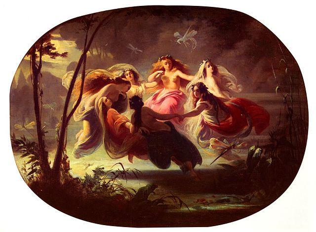 The Fairy Dance (dans van de elfen), Robert Alexander Hillingford (1825-1904)