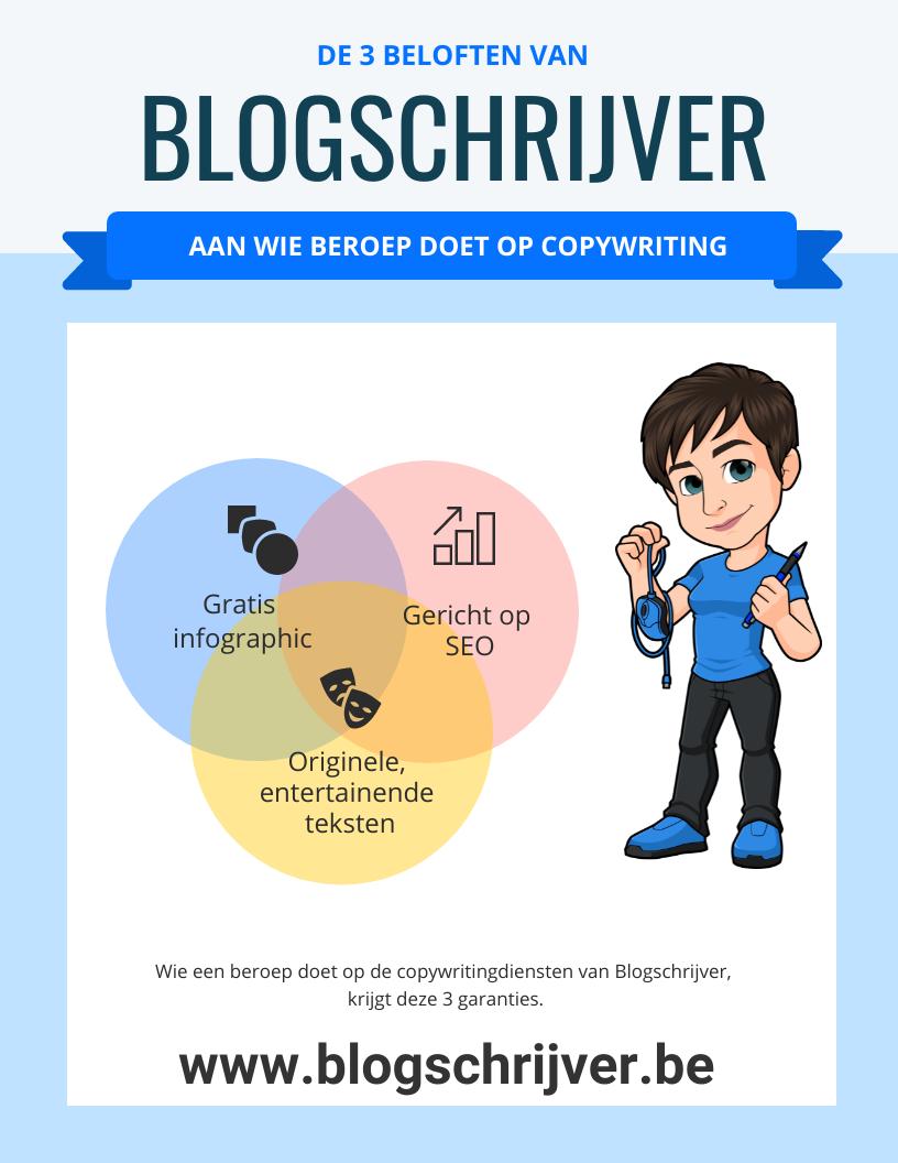 3 USP blogschrijver